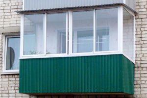 Примеры работ — балкон без выноса
