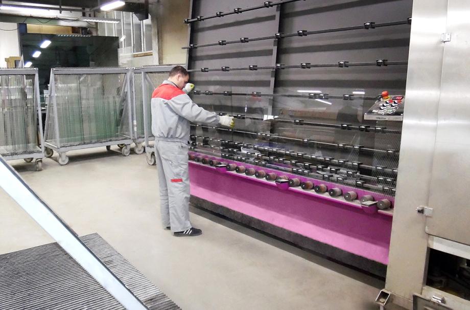Оборудование для промывки стекла